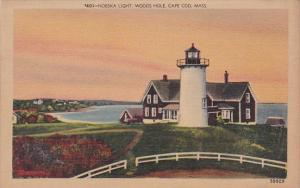 Nobska Lighthouse Woods Hole Cape Cod Massachusetts