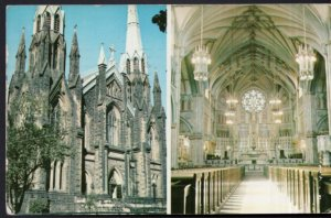 Prince Edward Island CHARLOTTETOWN St. Dunstan's Basilica - pm1966 -- Chrome