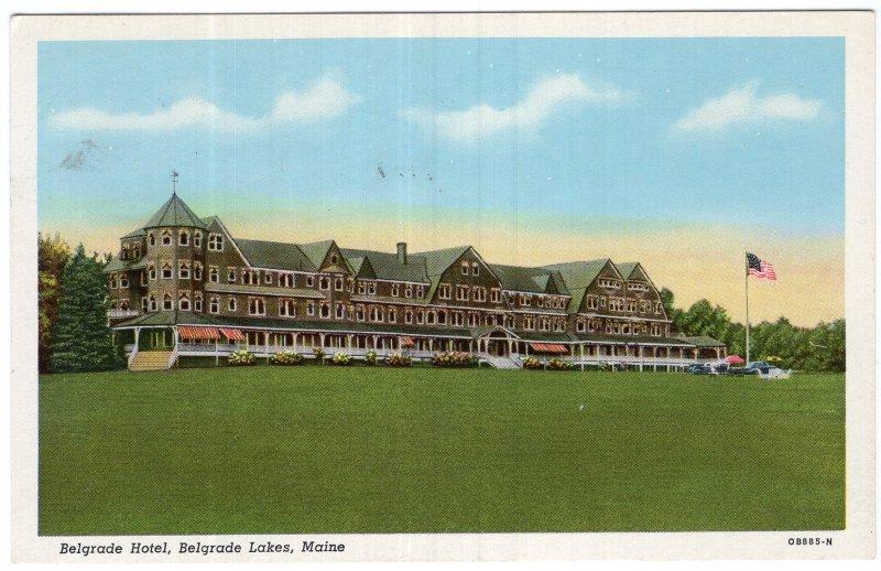 Belgrade Lakes, Maine, Belgrade Hotel