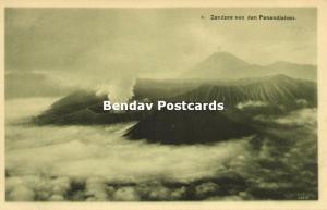 indonesia, JAVA, Sand Sea of the Mount Penanjakan, Volcano (1910s) II