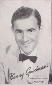 Vintage Mutoscope Card Benny Goodman