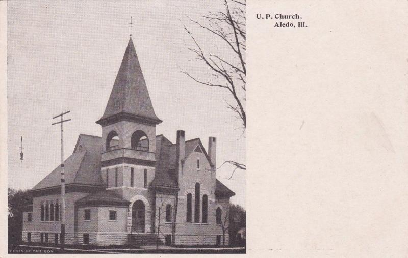ALEDO, Illinois, 00-10s; U. P. Church