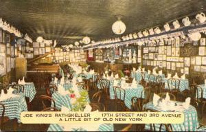 New York City Joe King's Rathskeller