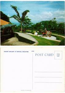 CPM  Singapore - Ancien Artillery at Sentosa  (694639)