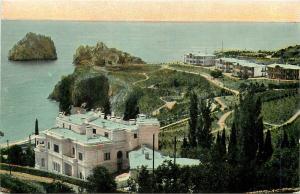 UKRAINE CRIMEA HEALTH RESORT SOUK SOU CASINO IMPERIAL RUSSIA 1900s general view