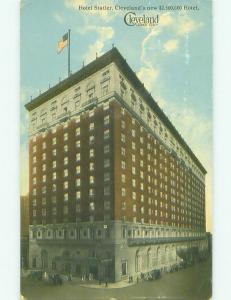Divided Back STATLER HOTEL BUILT FOR $2.5 MILLION Cleveland Ohio OH HQ5075