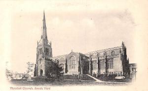 England Thaxted Parish Church, South View