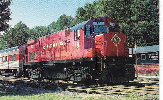 Morristown & Erie Railway Alco Century 424 Locomotive Number 19