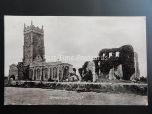 Suffolk WALDERSWICK CHURCH - Old Postcard by Valentine 13771