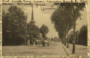 denmark, FAKSE, Parti fra Faxe Ladeplads (1927) Postcard