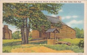 Berry And Lincoln Store Stock Bought Of Green Jan 1833 New Salem State Park S...
