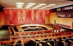 New York City United Nations Economic and Social Council Chamber