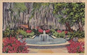 Alabama Mobile Scene In Bellingrath Gardens