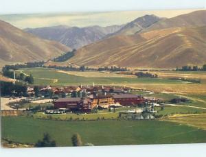 Unused Pre-1980 PANORAMIC VIEW Sun Valley Idaho ID F8884