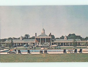 Pre-1980 MOTEL SCENE Dover Delaware DE AD8963