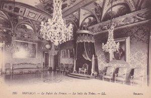 MONACO, 1900-1910s; Le Palais Du Prince, La Salle Du Trone