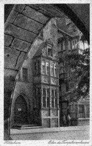 Hildesheim Erker des Tempeherrenhauses Street Postcard