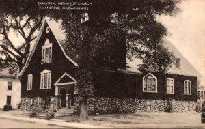 Massachusetts Mansfield Emmanual Methodist Church