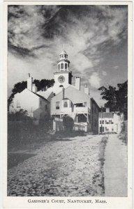 NANTUCKET , Massachusetts , 1910-30s; Gardner's Court