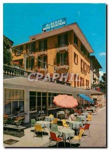 Postcard Modern Hotel Belvedere Brissago Mirto
