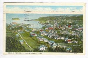 General View from Mt. Battle, Camden, Maine, PU-1932