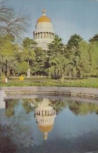 State Capitol Building In Sacramento California