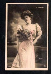 033652 DE VERLAC Opera Star Vintage REUTLINGER PHOTO