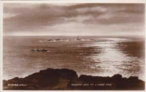 RP; Land's End , Cornwall , England , 20-30s Lighthouse