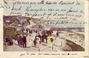 PIER AND SANDS BOURNEMOUTH ENGLAND 1907