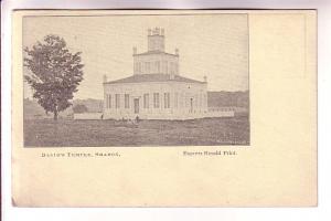 David's Temple, Sharon, Express Herald Print, New Market