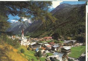 Austria, Solden 1377m, Oetztal, Tirol, unused Postcard