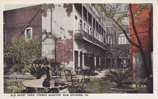 Louisiana New Orleans Old Court Yard French Quarter