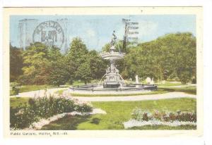 Public Gardens, Halifax, Nova Scotia, Canada, PU-1953