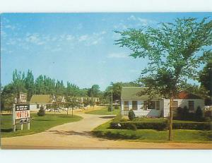 Unused Pre-1980 KINGS KOURT MOTEL Pipestone Minnesota MN u6741-24