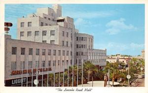Miami Beach Florida~Lincoln Road Mall~Mercantile Bank~Liggett~Woolworth~1961 Pc