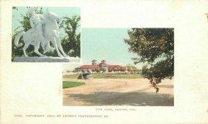 City Park Denver Colorado Detroit Photographic C-1905 #5345 Postcard 20-2891