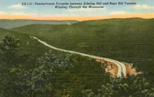 PA - Pennsylvania Turnpike  Between Sidling Hill and Ray's Hill Tunnels