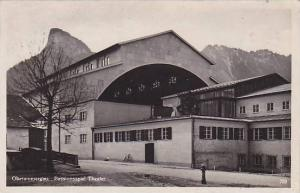 RP, Passionspiel Theater (Exterior), Oberammergau (Bavaria), Germany, 1920-1940s