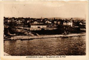 CPA   Andrézieux(Loire)  - Vue Générale prise du Pont   (430353)