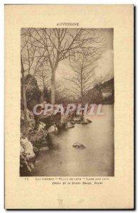 Lac d & # 39Aydat - Blocks Washing - Old Postcard