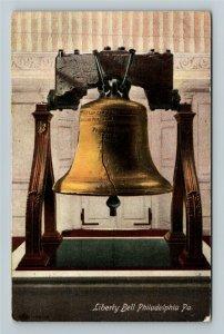 Philadelphia PA-Pennsylvania Liberty Bell, Vintage Postcard