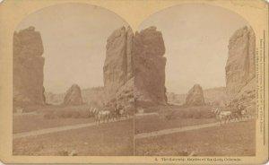 SV ; The Gateway , Garden of the Gods , Colorado , 1877