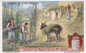 Liebig Vintage Trade Card S1150 People Of Asia Minor 1922 Mesopotamie