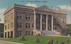 City Hall , LEESBURG , Florida , 30-40s