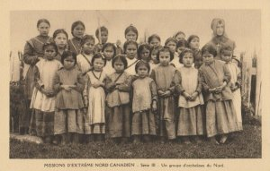 Eskimo & Indian Missions , Canada , 1910s ; View #25