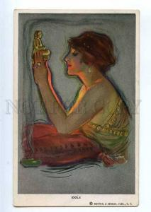 234662 IDOLS Illuminated BELLE by Lou MAYER Vintage R&N #509