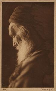 Old Jewish Man, Judaica (1920s) L. & L. 112 Postcard