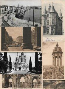France Lourdes Nantes Blois Paris And More Postcard Lot of 21 01.04