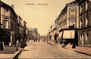 France Sannois Rue de Paris