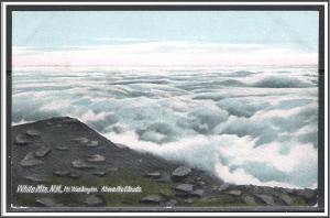 New Hampshire, White Mountains Above The Clouds